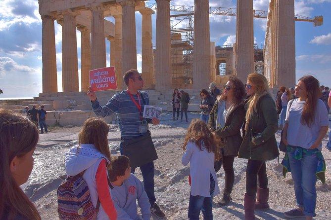 The Acropolis, Athens Walking City Tour and Acropolis Museum