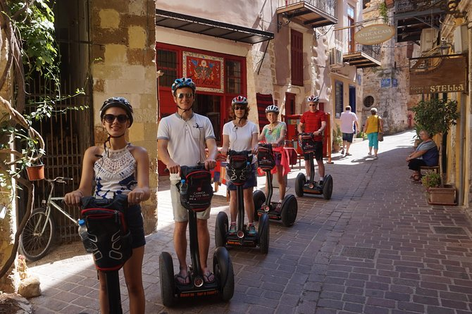 Small-Group Old City and Harbor Segway Tour in Chania
