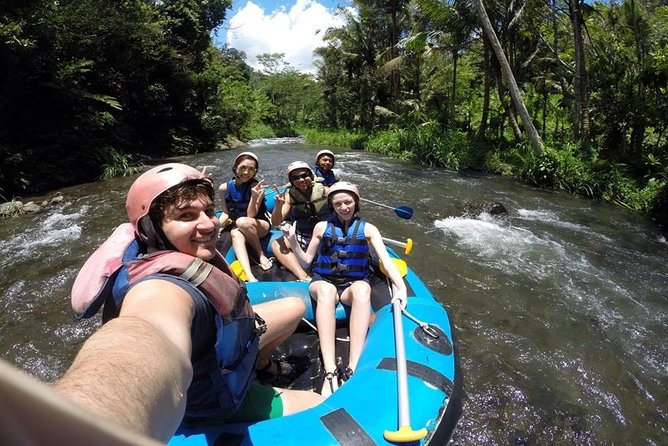 Ayung River Rafting Adventure and Ubud Highlights Tour