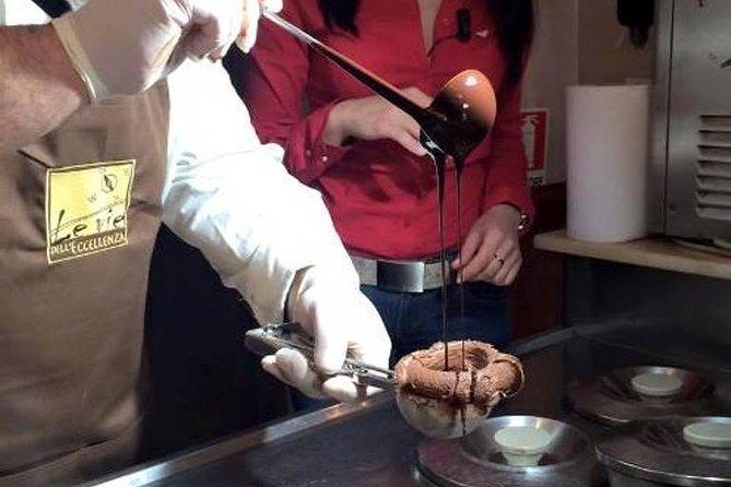 Preparazione e degustazione del famoso tartufo di Pizzo