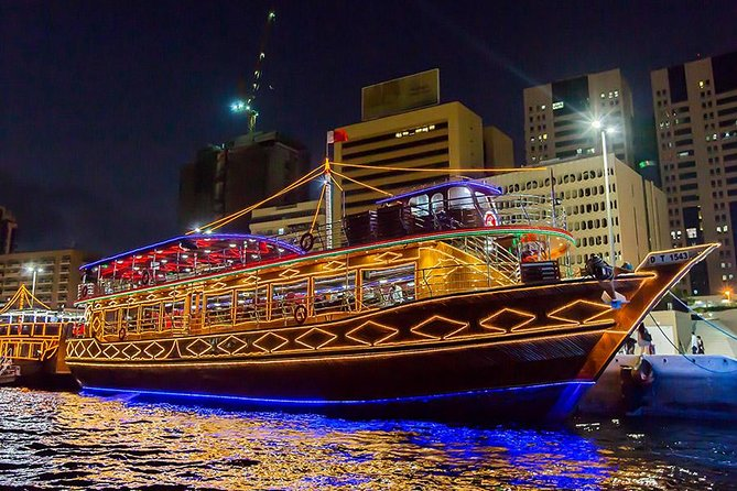 Dubai Creek Cruise Dinner
