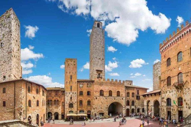 Ausflug nach Volterra, San Gimignano, Greve in Chianti, Weingut Chianti