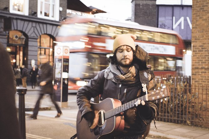 Camden Market and Music Legends Vandringstur i London