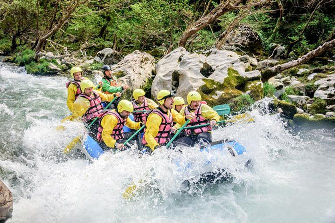 Rafting in Lousios and Alfeios rivers