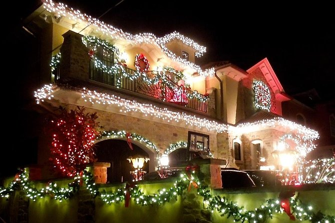 Christmas Lights.Dyker Heights Christmas Lights Tour