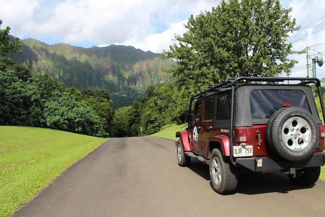Private Oahu Jeep Tour