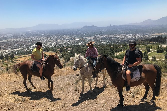 3 hour Horse ride in the Andes! Half day private tour from Santiago!