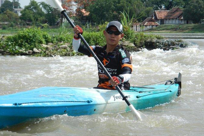 1 Day green Chiang Mai City Hike, Bike and Kayak Passage