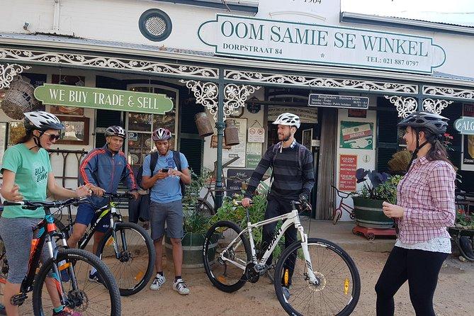 Visite guidée à vélo de Stellenbosch