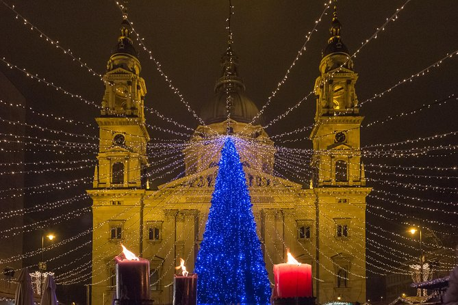 Christmas Lights, Beautiful Budapest with Mulled Wine!