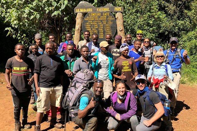Mt Kilimanjaro Climb - 8 days Lemosho