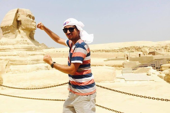 private guided tour to Giza pyramids & camel ride including