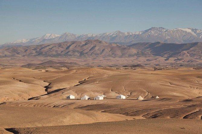 Marrakech day trip to agafay desert