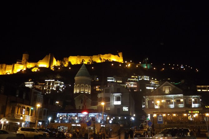 Tbilisi: Walking Night Tour to Old Tbilisi