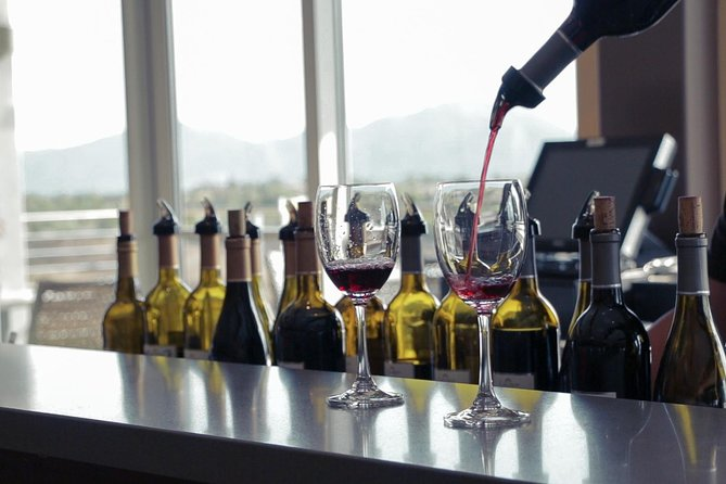 Wine tasting fees covered by Grapeline