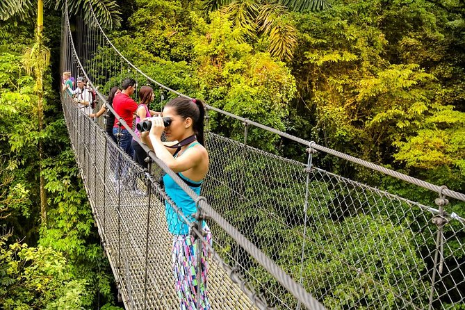 VIP Private Tour: Arenal Volcano, Rainforest Hanging Bridges & Baldi Hot Springs