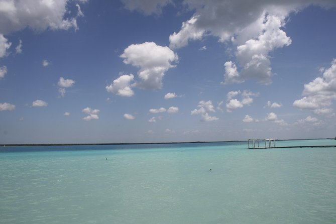 BACALAR & CENOTE AZUL from Riviera Maya and Cancun (Private)
