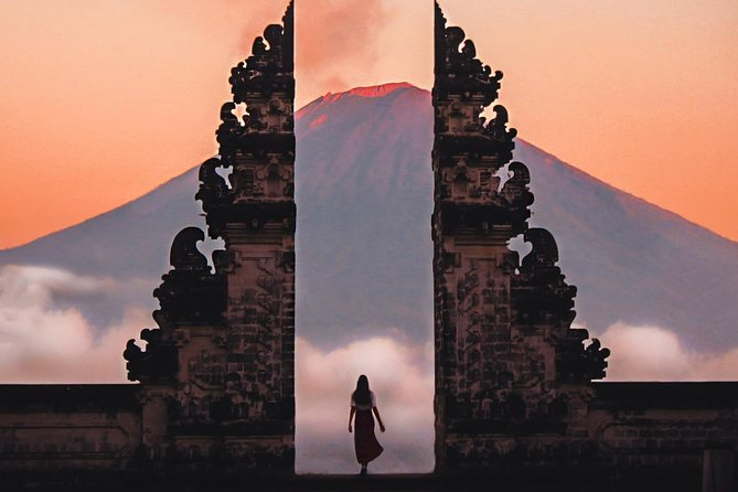 Gateway of Heaven at Pura Lempuyang in Bali