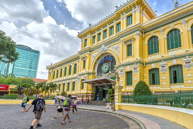 Small Group Full-day Cu Chi Tunnels and Ho Chi Minh City Sightseeing Tour