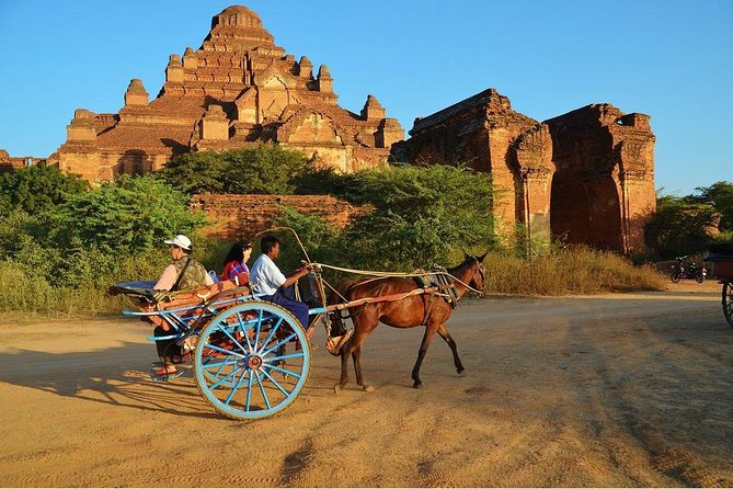 Private Day Tour with Horse Cart Riding in Bagan
