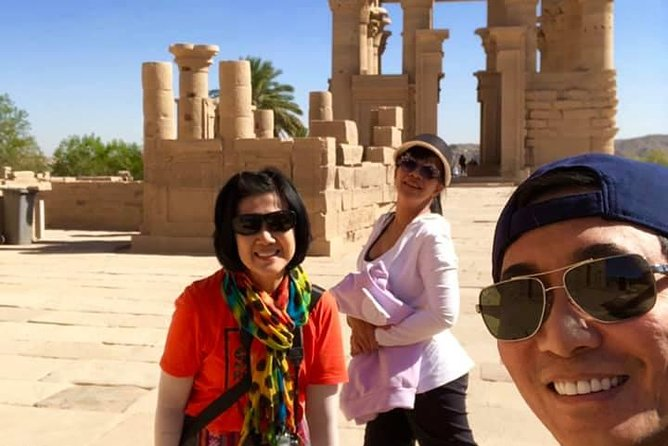 Aswan private day tours to High Dam Unfinished Obelisk and Philae Temple photo 7