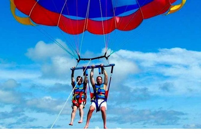 Sea Fun: Glass Bottom Boat, Tube Ride & Parasailing, Sharm El Sheikh