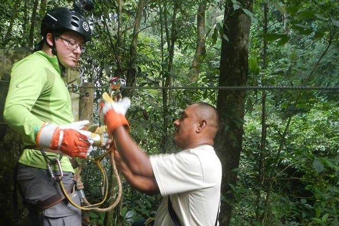 Full-Day: Hiking, Waterfall, and Zipline Adventure from Panama City, Panama