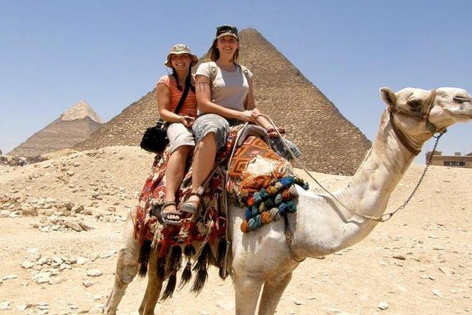 Private Tour Giza Pyramids & Sphinx & Camel ride & Egyptian Museum