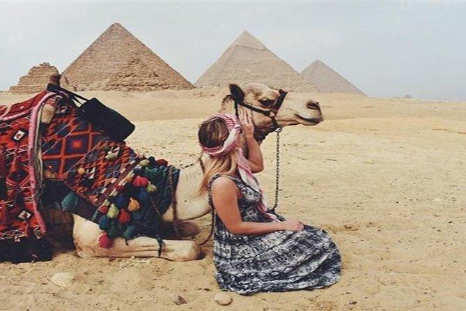 Giza Pyramids Sunset Tour with Camel Ride