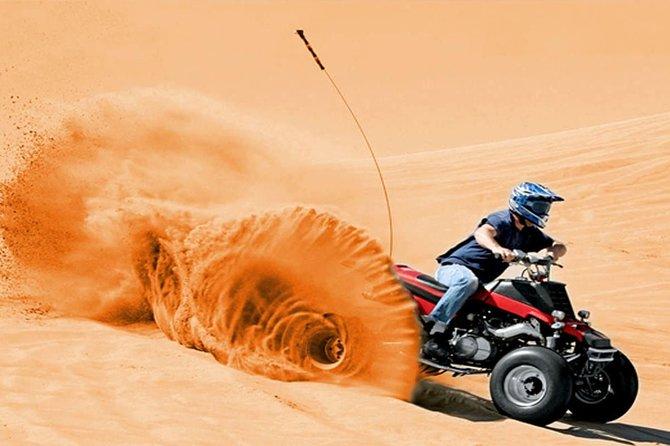 Red Dunes Safari with Half hrs Quad Bike Ride & Half Day Dubai City Tour