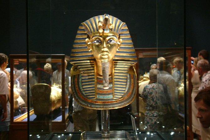 Half Day Egyptian Museum with treausry of king tut ankh amon