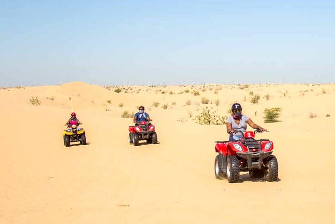 Red Dunes Safari with Half hrs Quad Bike & Abu Dhabi city Tour