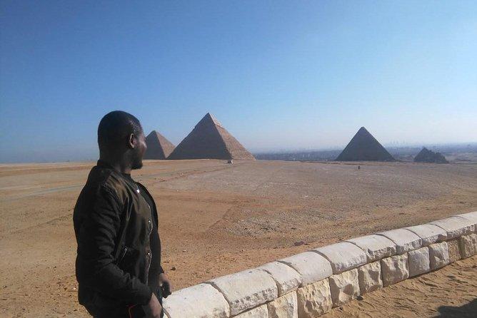 Giza Pyramids, Memphis old capital and Sakkara step pyramids