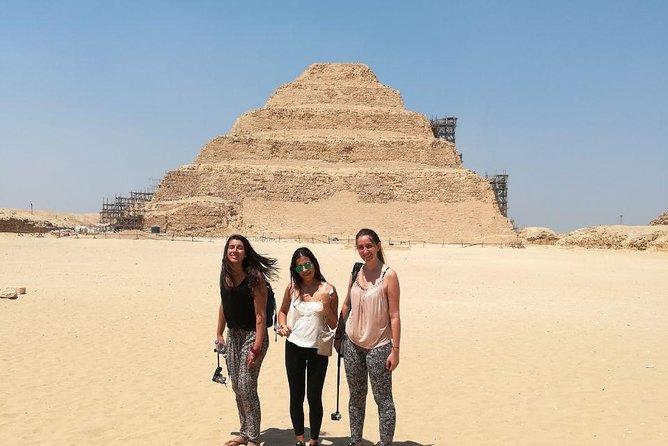 Sakkara pyramid, Memphis old city and Dahshur day tour