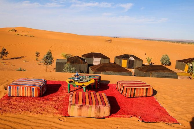 4-Days Tour From Marrakech to Zagora and Merzouga Camel Trek
