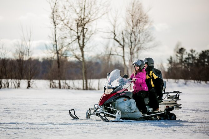 snowmobiling activity rides of 1 hour
