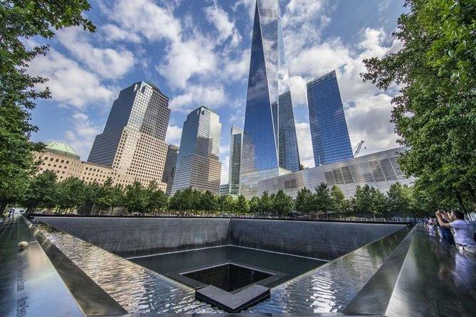Prive 11 september Memorial en Wall Street Tour met voetstuk Toegang tot het Vrijheidsbeeld
