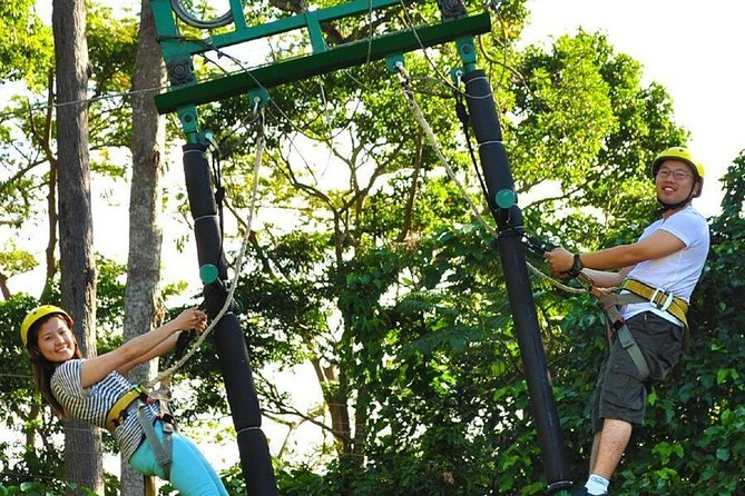 Tree Top Adventure Park Krabi including Round Trip Transfer