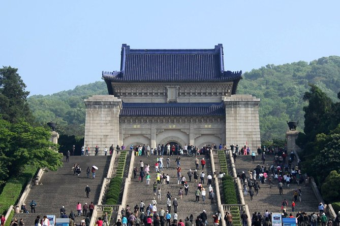 Private Nanjing Day Tour to Sun Yat-Sen's Mausoleum, Ming Xiaoling Tomb and Confucius Temple