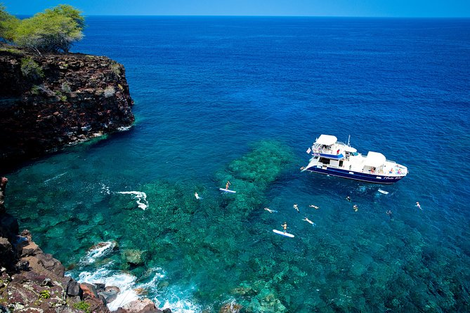 Deluxe Kona Coast Snorkel and BBQ Cruise