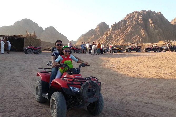 Quad Biking Adventure from Sharm El Sheikh Private