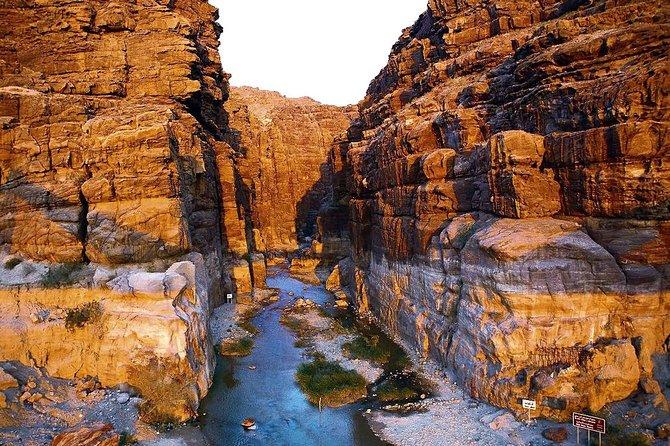 Wadi Mujib Siq Trail Hiking Experience