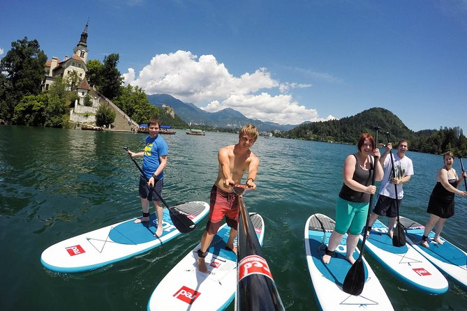 Lake Bled Stand-up Paddle Tour