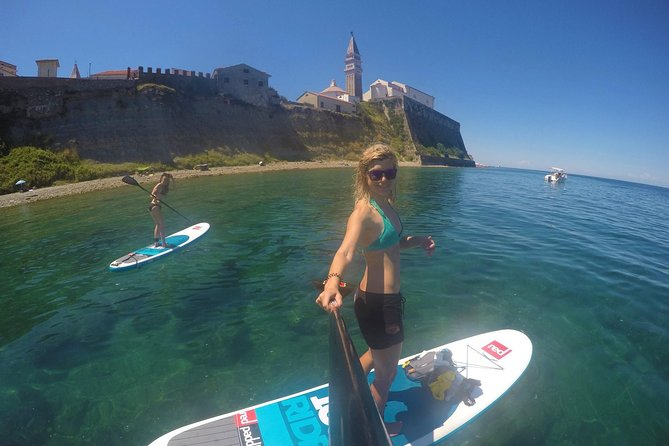 Paddle-board to Piran & Explore Skocjan Caves - Active Day Tour from Ljubljana