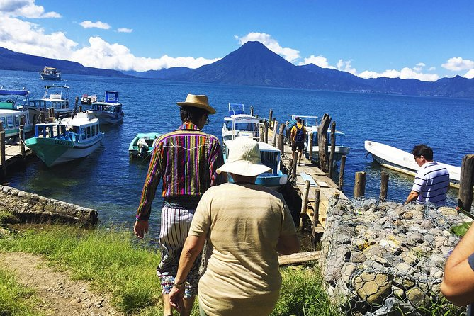 Lake Atitlan, Panajachel and Santiago Village Day Trip by Boat from Antigua