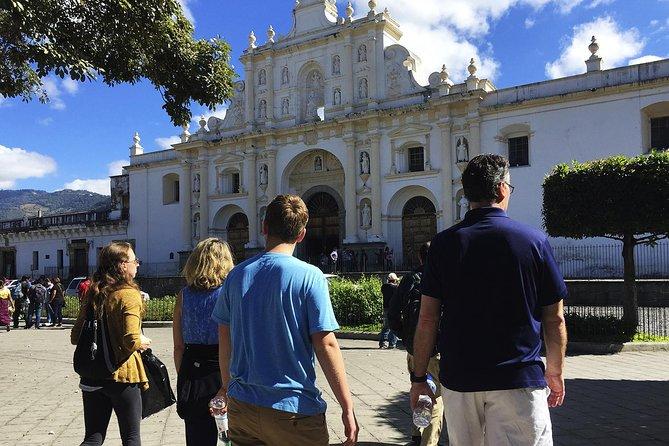 Colonial Antigua Guatemala walking tour & Hot Springs from Antigua Guatemala