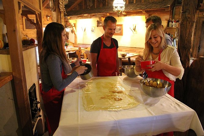 Dinner Cooking Class & Concert - Prezels, Dumplings, Apple Strudel & Mozart