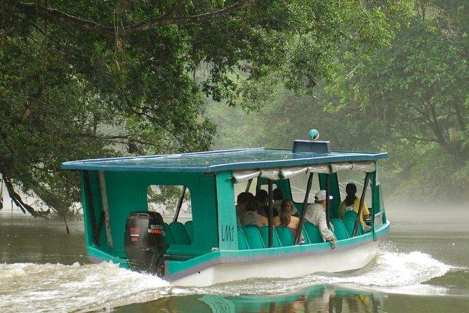 Enjoy a boat ride down Sarapiqui River