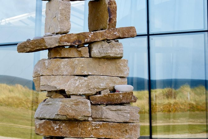See the native Canadian Inukshuk outside the Juno Beach Centre