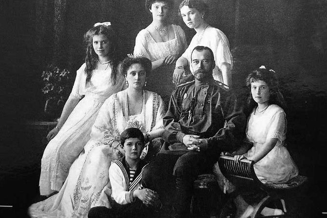 The last Russian Emperor Nickolas II and his family